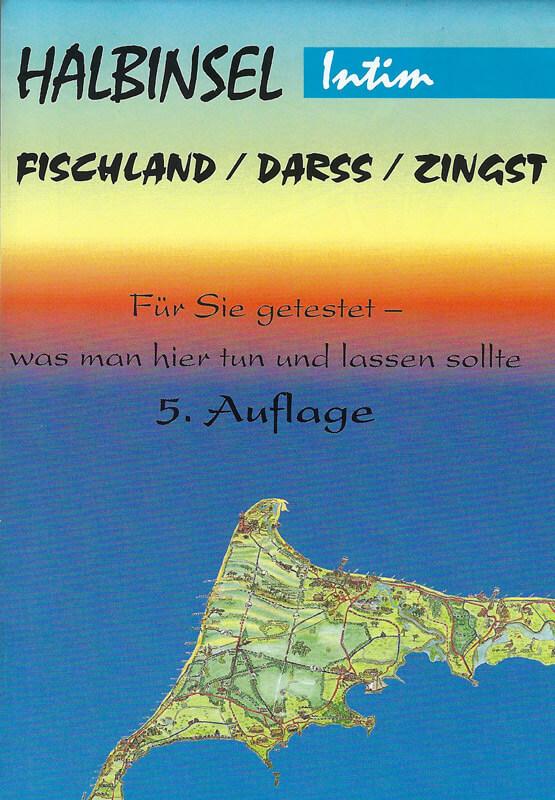 Karte Halbinsel Fischland / Darß / Zingst