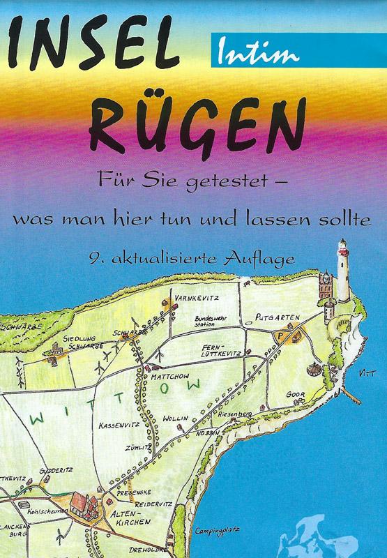 Karte Insel Rügen