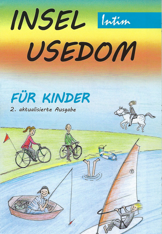 Karte Insel Usedom für Kinder